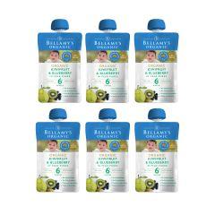 Bellamy's Organic - 貝拉米有機奇異果及藍莓梨醬 (6個月或以上) (原箱6件) (食用期至2021年3月13日) H6680051018