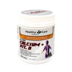 Healthy Care - 鈣 + 維他命 D ---150片 HA900011011