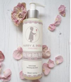 Harry & Rose 嬰兒洗頭及潔膚液 ( 英國製造 )