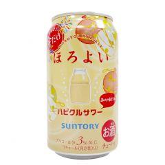 SUNTORY - HOROYOI HAPIKURU SOUR 3% 350ML (1 Bottle / 6 Bottles / 24 Bottles) (Parallel Import) HAPIKURU_SOUR_ALL