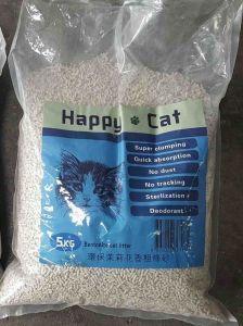 HappyCat_B3 Happy Cat - Jasmine scent Bentonite coarse sand
