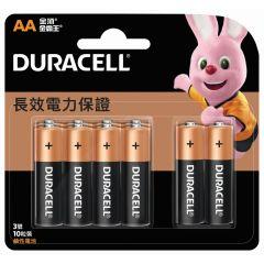 金霸王鹼性電芯 AA 10 粒 (原裝正貨) HB1X0012204