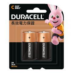 金霸王鹼性電池C型中2粒 (原裝正貨) HB1X0014201