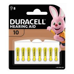 Duracell – Hearing Aid Batteries size 10 (8 pack) HB1X0021005