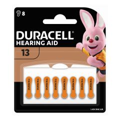 Duracell – Hearing Aid Batteries size 13 (8 pack) HB1X0021006