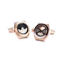 HOTiTLE ETERNITY鈦金屬袖口鈕 (玫瑰金)