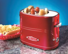 Nostalgia Electrics Retro Pop-Up Hot Dog Toaster HDT600 HDT600