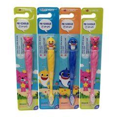 Pinkfong - Pinkfong 鯊魚家族牙刷 2支 [隨機抽款,不會重覆]