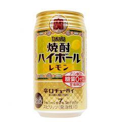 寶酒造 - 燒酌梳打 檸檬味 350毫升 (1支 / 6支 / 24支) (平行進口貨品) HIGHBALL_LEMON_ALL