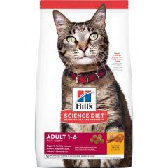 希爾思寵物食品 - 成貓 乾貓糧 (2kg / 4kg / 10kg) Hills-CatAduDF