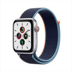 Apple Watch SE GPS + Cellular, Aluminum Case with Sport Loop 2020