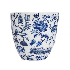 Faux - Hong Kong Toile East-Meets-West Cups Set of 2 HKTCRMCTC