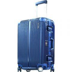 Hallmark Design Collection 4輪20吋金屬鋁框行李箱(藍色)(HM828FT)