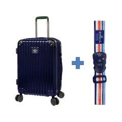 員工優惠 - [送收納袋套裝] Hallmark Design Collection Pc Case 4輪行李箱 (藍色)(HM850T)