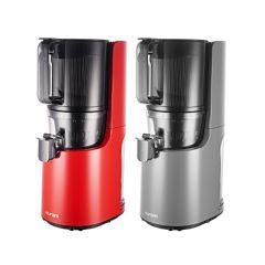 [韓國製造] Hurom 惠人 - All-in-One 冷壓慢磨原汁機 H200  (鈦灰色 / 紅色)