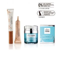 Vera Cova Skin Care Set ( Multi-action Hydration Cream + Eye Contour Cream - Anti-Puffiness and Dark HYD111P