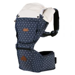 I-Angel - Four Season Denim Hip Seat Carrier - Starlit