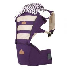 I-Angel - Four Seasons Mesh Hip Seat Carrier - Violet
