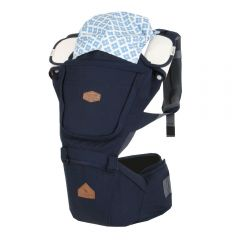 I-Angel - Four Seasons Bigsize Hip Seat Carrier - Plain Navy