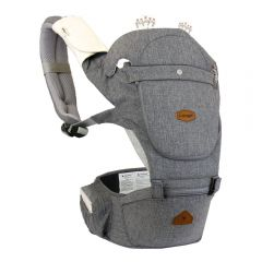 I-Angel - Hello 4 Seasons Hip Seat Carrier - Grey