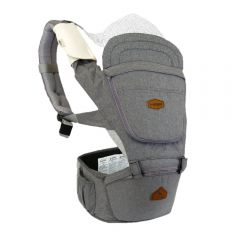 I-Angel - Light 4 Seasons Hip Seat Carrier - Charcoal