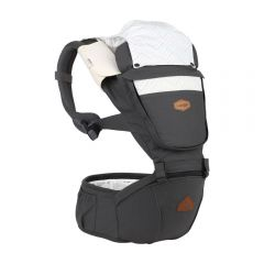I-Angel - Nature 4 Seasons Hip Seat Carrier (Charcoal)