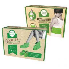 泰國草藥熱敷墊套裝 - 腰部+靴子 IAMGREEN_SET2
