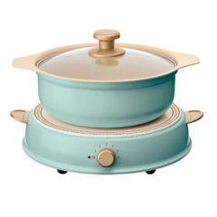 IRIS OHYAMA - Ricopa IH cooking heater & pot set IRIS_RICOPAIH