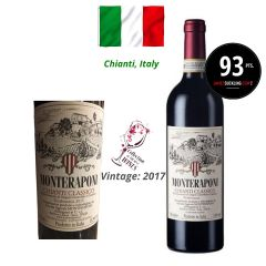Monteraponi - Chianti Classico DOCG 2017 (JS 93) ITMO01-17
