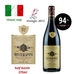 Monteraponi - Toscana Rosso Baron' Ugo IGT 2013 (JS 94) (1500ml) ITMO03-13M