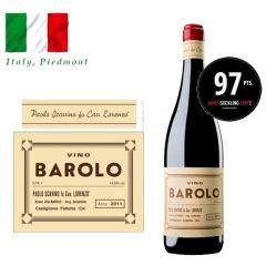 """Paolo Scavino - Barolo """"Novantesimo"""" Riserva DOCG 2011 (RP 97) ITPA12-11"""