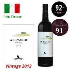Tolaini - Al Passo Rosso di Toscana IGT 2012 (RP 91) ITTL02-12