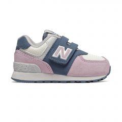 New Balance Sport Lifestyle Infant Girls 574 TD Core - Blue/Pink IV574JHGW