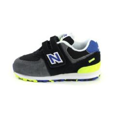 New Balance Lifestyle Infant Boys Q119 574 童裝鞋 - 黑色