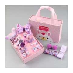 JK Lifestyle - Korea JK children's head hair clip 18-piece gift box J0040