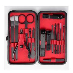 韓國 JK - 剪指甲刀美容修甲工具套裝指甲鉗15件套死皮剪修腳套裝 J0145