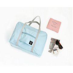 JK Lifestyle - 韓國JK新款可折疊旅行包 手提拉桿收納包 行李箱掛包