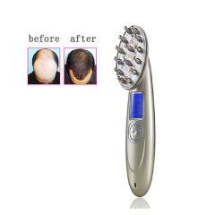 韓國 JK - 激光美髮梳LED光RF射頻微電EMS振動按摩導入生髮美容儀電動生髮梳子 鐳射健康養髮長髮梳
