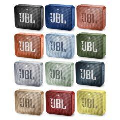 JBL GO 2 迷你防水藍牙喇叭 (12 款顏色)