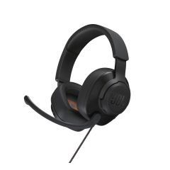 JBLQUANTUM200BLK JBL Quantum 200 Wired Over-Ear Gaming Headset (with flip-up mic) JBL Quantum200 BK