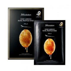 JM Solution Honey Luminous Royal Propolis Mask Black (Size: 30ml x 10) JM-104