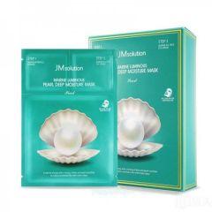 JM Solution Marine Luminous Mask White Pearl (Size: 30ml x 10) JM-105