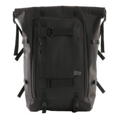 W.P.C. 日本KIU防撥水捲軸/摺疊式多功能大背包/背囊(黑色) K133-900