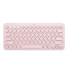 LOGITECH K380 多工藍牙鍵盤 (粉紅色)