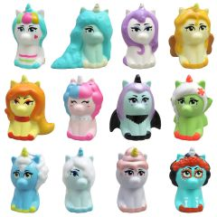 KadeND2009 Just Play - Kawaii Squeezies Rainbow Go Squad Unicorns (Series 6) - Colour Changing