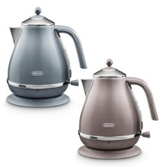 De'Longhi - Icona Metallics Series Water Kettle (Blue / Pink) KBOT3001_all