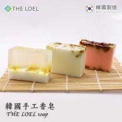 The Loel - 韓國天然手工香皂洗臉沖涼花香肥皂 [舒緩疲勞壓力