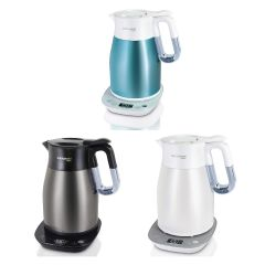 German Pool - Cordless Temperature Control Vacuum Kettle (3 color) KTV-215_all