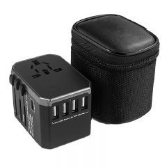 Kuroi 4 USB + 1 TYPE-C Travel Adapter kuroi_5usbTravel