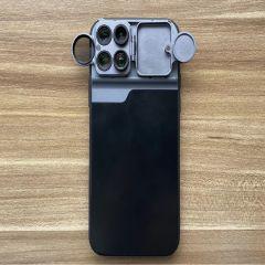 黑い Kuroi - 擴充鏡頭手機殼 廣角、微距、瀘鏡、魚眼 (適用不同型號iPhone) kuroi_lens